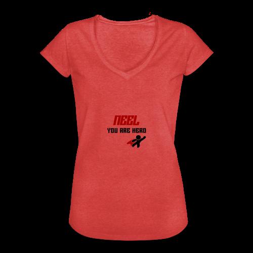 NEEL You Are Hero - Koszulka damska vintage