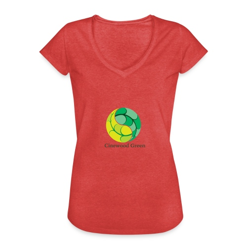 Cinewood Green - Women's Vintage T-Shirt