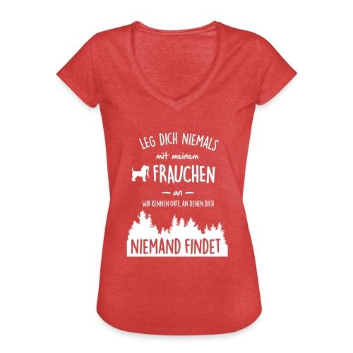 Vorschau: Mein Frauchen - Frauen Vintage T-Shirt