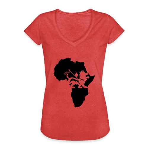 lion_of_judah_africa - Women's Vintage T-Shirt