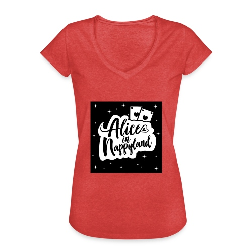 Alice in Nappyland 1 - Women's Vintage T-Shirt