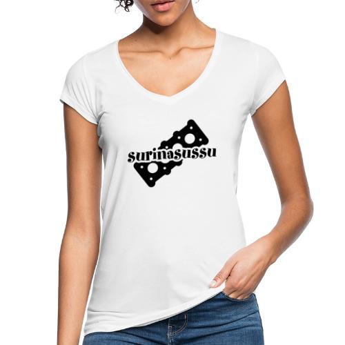 Surinasussu - Naisten vintage t-paita