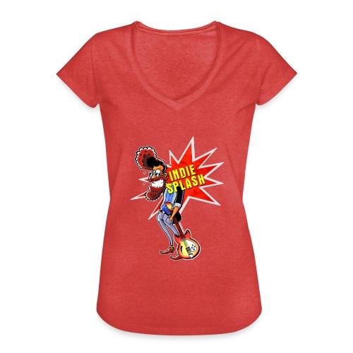 Indie Splash - Frauen Vintage T-Shirt