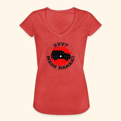 SUV? Nein danke! - Frauen Vintage T-Shirt