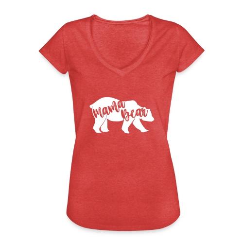 Mama Bear - für Eltern-Baby-Partnerlook - Frauen Vintage T-Shirt