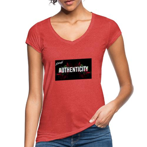 Authenticity - T-shirt vintage Femme