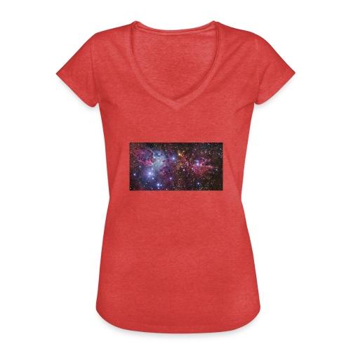 Stjernerummet Mullepose - Dame vintage T-shirt