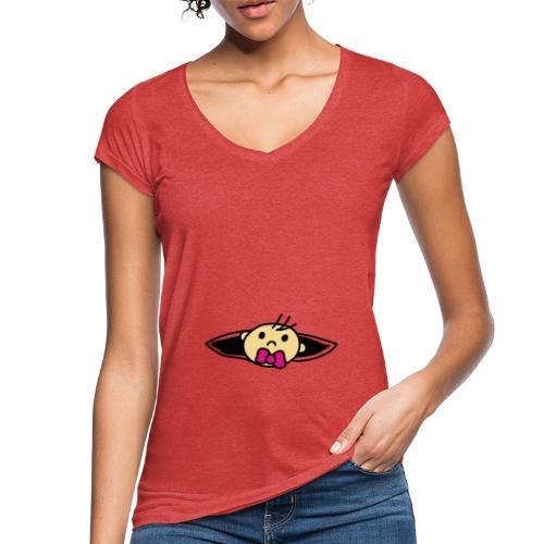 Baby Loading Ich bin Schwanger Design - Frauen Vintage T-Shirt