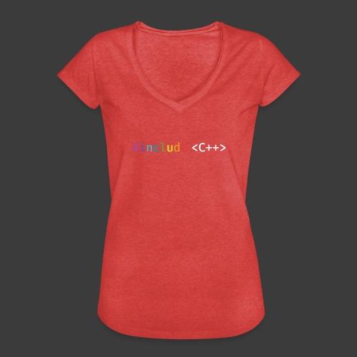 rainbow for dark background - Women's Vintage T-Shirt
