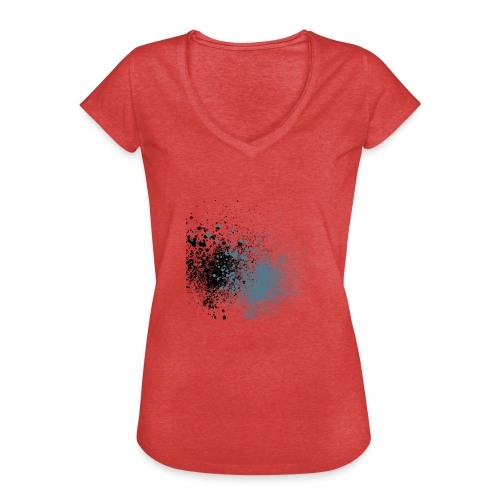 färger - Vintage-T-shirt dam