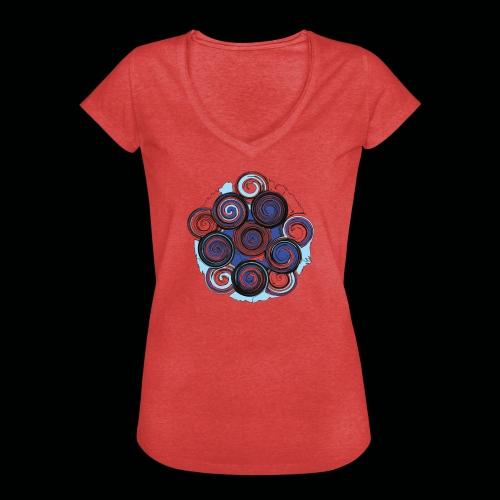 SPIRALE - Frauen Vintage T-Shirt