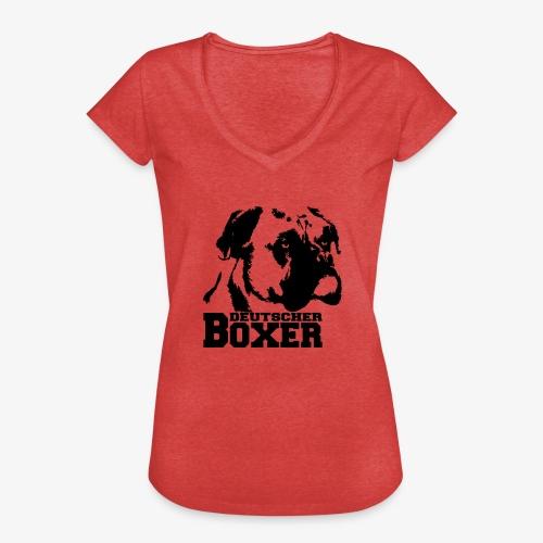 Deutscher Boxer - Frauen Vintage T-Shirt