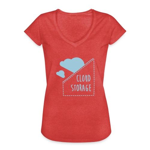 Cloud Storage - Frauen Vintage T-Shirt