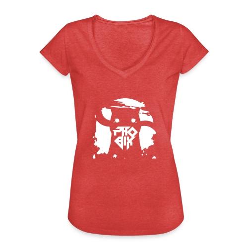 white 01big png - Frauen Vintage T-Shirt