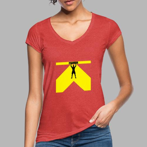 Fitness Lift - Frauen Vintage T-Shirt