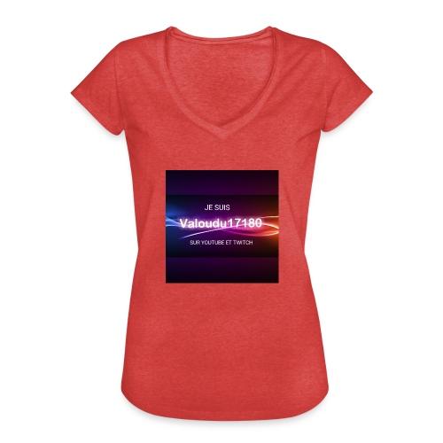 Valoudu17180twitch - T-shirt vintage Femme