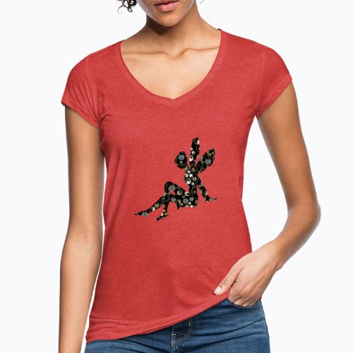 fairy abstract - Women's Vintage T-Shirt