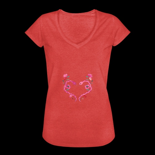 Coeur de serpents - T-shirt vintage Femme