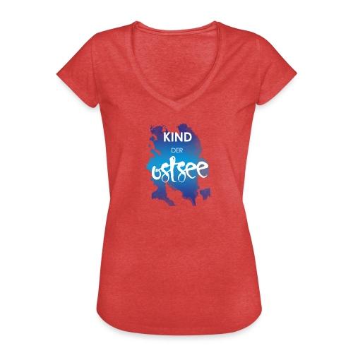 Kind der Ostsee - Frauen Vintage T-Shirt