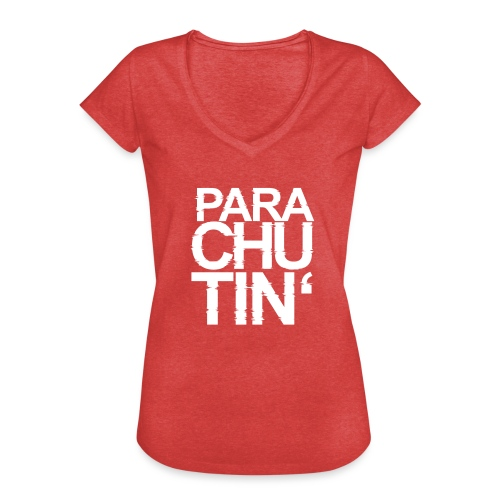 Parachute Glitch v2 - Frauen Vintage T-Shirt
