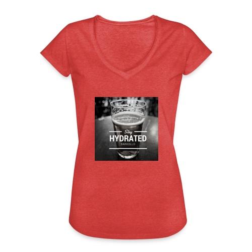 Stay Hydrated beer - Maglietta vintage da donna