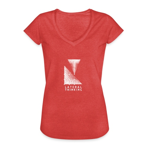 Lateral Thinking - T-shirt vintage Femme