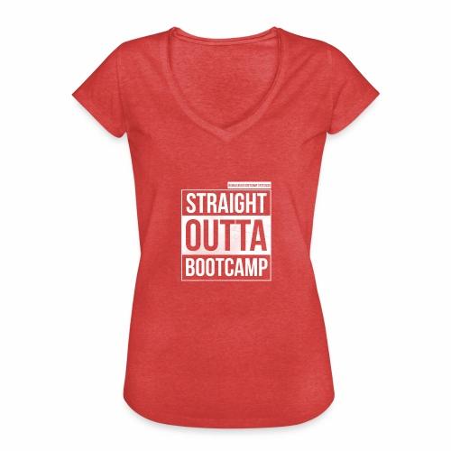 Suoraan Bootcampilta - Naisten vintage t-paita