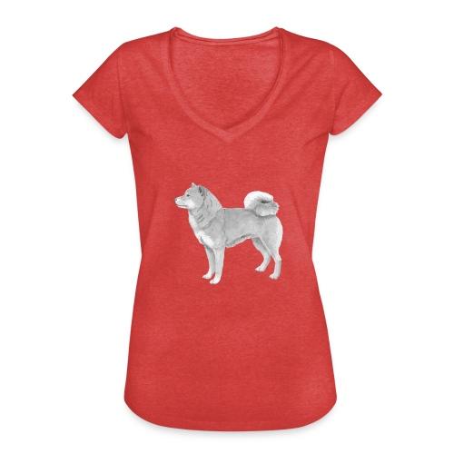 shiba inu - Dame vintage T-shirt