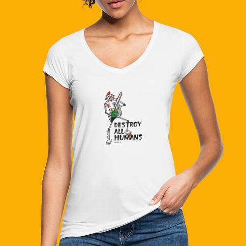 Dat Robot: Destroy Series Killer Clown Light - Vrouwen Vintage T-shirt