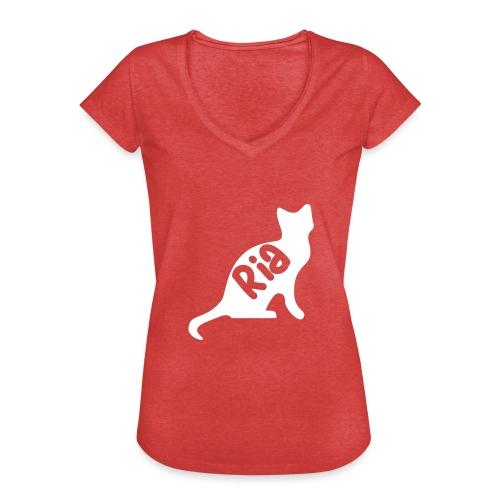 Team Ria Cat - Women's Vintage T-Shirt