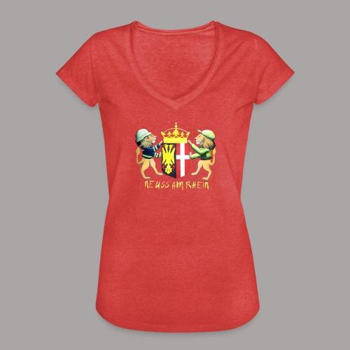 Neuss am Rhein - Frauen Vintage T-Shirt