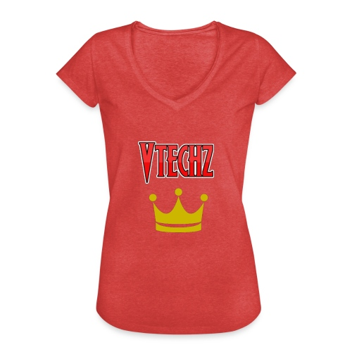 Vtechz King - Women's Vintage T-Shirt