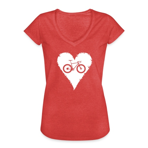 I love bicycles - Frauen Vintage T-Shirt
