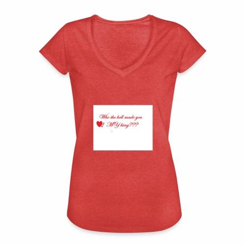 LoveYourselfTheMost - Women's Vintage T-Shirt