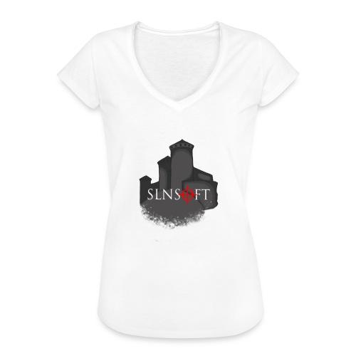 slnsoft - Naisten vintage t-paita