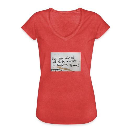 Zitronen - Frauen Vintage T-Shirt