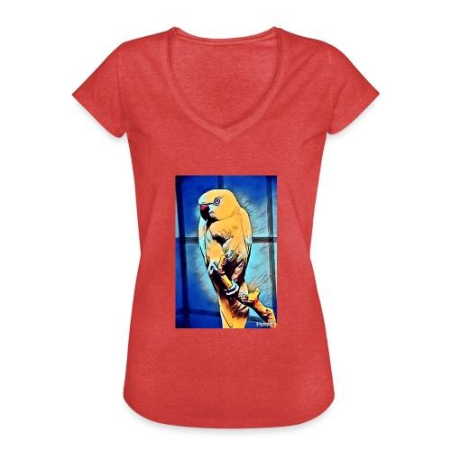 Bird in color - Naisten vintage t-paita