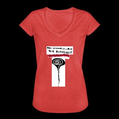 schwarzes lochohne signatur - Frauen Vintage T-Shirt