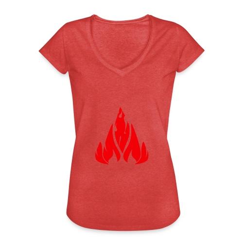 fire - Women's Vintage T-Shirt