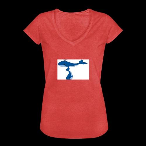 whale t - Women's Vintage T-Shirt