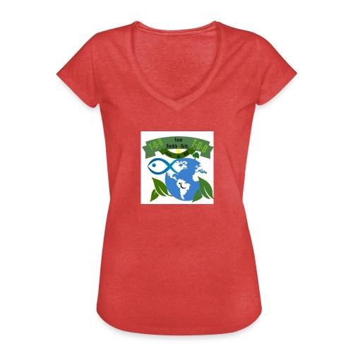 logo dumble baits - T-shirt vintage Femme