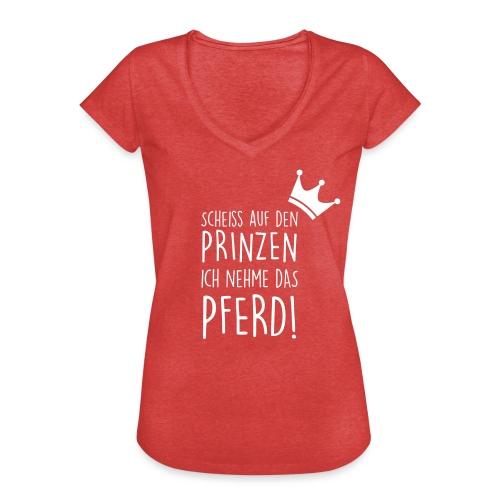 Vorschau: Prinz Pferd - Frauen Vintage T-Shirt