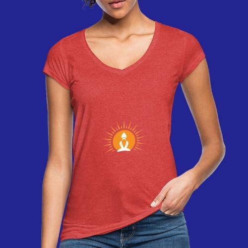 Guramylyfe logo white no text - Women's Vintage T-Shirt