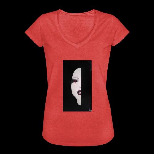 BlackWhitewoman - Maglietta vintage donna