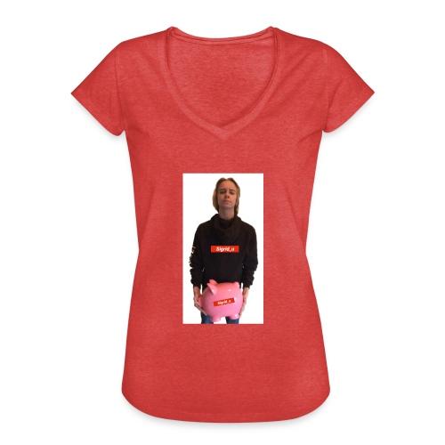 Sigrid_uPhotoTee - Vintage-T-skjorte for kvinner