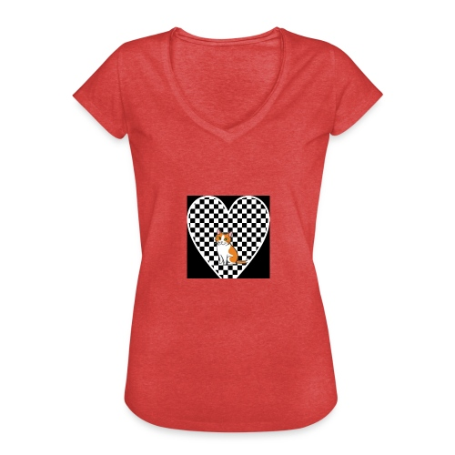 Charlie the Chess Cat - Women's Vintage T-Shirt