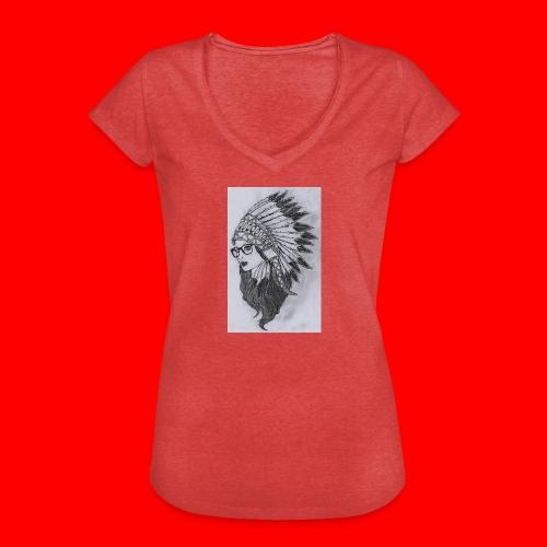 indian - Maglietta vintage donna