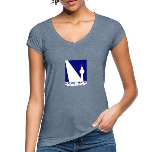 Instant Theater Berlin logo - Women's Vintage T-Shirt
