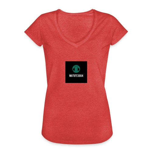 Matute3004 - Camiseta vintage mujer