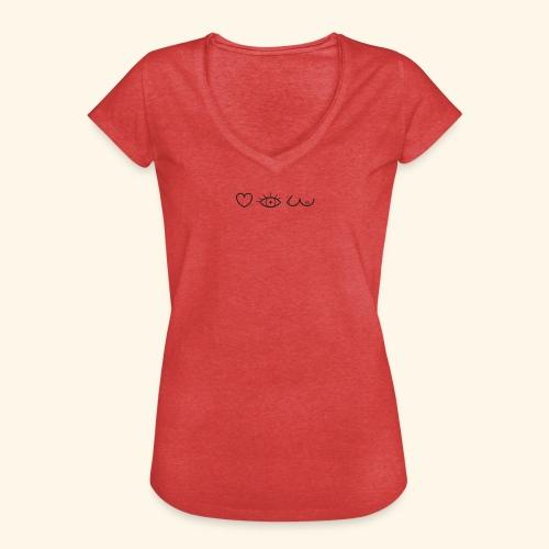 J'aimer regarder les filles - T-shirt vintage Femme
